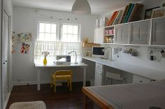 City Chic Country Mouse: Inspiring Sewing Spaces