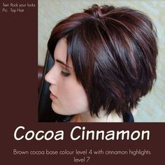 Rich chocolate perfect for fall and winter. Perhaps HOT chocolate is more descriptive!
