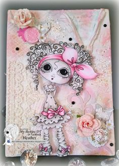 All Things Crafty by Heather C: My Besties 3D & More Challenge Guest DT