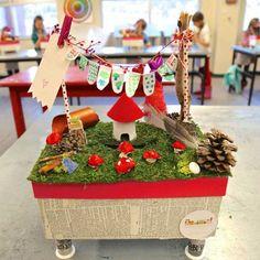 Woodland Valentine Box.                                          Gloucestershire Resource Centre http://www.grcltd.org/scrapstore/