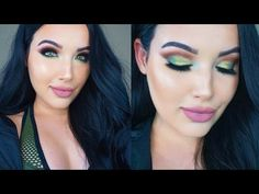 Olive Makeup Tutorial perfect for St Patrick's Day