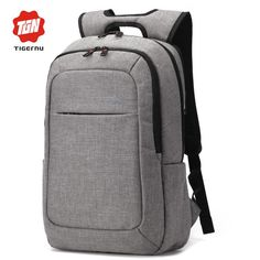 2017 Tigernu Men′s Backpacks Anti-thief Mochila for Laptop Inch Notebook Computer Bags Men Backpack School Rucksack Bags Travel, Travel Bags For Women, Usb, Mochila Nike, Laptop Rucksack, Laptop Bags, Gear Best, Men's Backpacks, College Backpacks