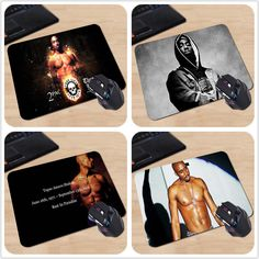 Good Quality Customized Mouse Pad Tupac Shakur 2Pac Makaveli Thug Life Rapper Fashion Computer Notebook Logo Printing Mouse Pad-in Mouse Pads from Computer & Office on Aliexpress.com   Alibaba Group