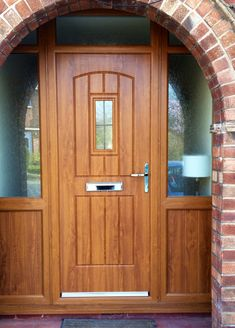 An industry-leading manufacturer of tailor-made composite doors, stable doors and french doors with unmatched strength and security. Oak Front Door, Back Doors, American Barn, Composite Door, Light Oak, Entrance Doors, Double Doors, French Doors, Cottage