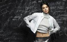 Download wallpapers Kendall Jenner, photoshoot, 2018, Hollywood, american models, beauty, brunette