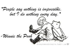 Winnie Pooh by A.A. Milne. You've just got to love Pooh!