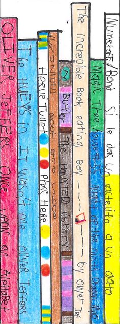"""""""Book Spines"""" by Kerrick T. 