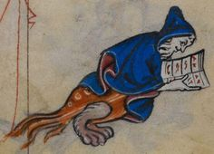 Detail from medieval manuscript, British Library Stowe MS 17 'The Maastricht Hours', f237v