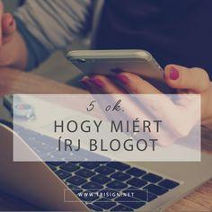5 ok, amiért kezdő vállalkozóként érdemes blogot írni
