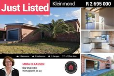 BRAND NEW FACE BRICK HOME IN SOUGHT AFTER KLEIN BERLYN These 3 bedrooms, 2 bathrooms and huge open plan lounge/kitchen with scullery has high volume ceilings with exposed beams throughout. The living area is an open plan and flows out on the stoep with build in braai. #CCH #kleinmond #3bedroom #homesforsale #kleinmondhomes #housesforsale #kleinmondproperties #propertiesforsale #propertyforsale #overbergpropertyforsale #kleinberyn #facebrick #overberg Built In Braai, Provinces Of South Africa, 3 Bedroom House, Exposed Beams, Open Plan, Living Area, Property For Sale, Brick, Flooring