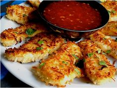 Caribbean Coconut Chicken, I think I need to try these.
