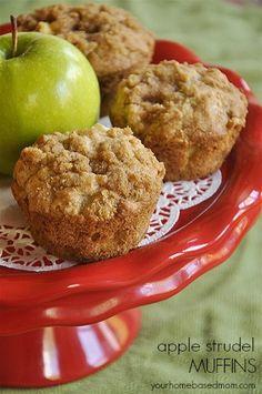 apple streusel muffin