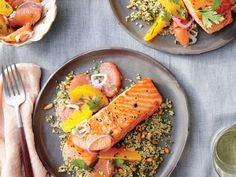 Consider this speedy salmon dish a fall anecdote to a holiday season filled with rich stews, braises, and roasts. The tart, bright citrus...