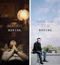 Sherlock & Moriarty.
