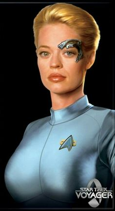 Jeri Ryan Seven de Nine Star Trek Voyager - Star Trek - Peliculas Star Trek Enterprise, Star Trek Voyager, Star Trek Starships, Jeri Ryan, Star Trek Cosplay, Ralph Mcquarrie, Star Wars Poster, Star Trek Gifts, Chewbacca