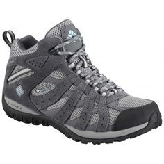 Columbia Redmond Mid Waterproof Womens Shoes from Fitness Footwear Hush Puppies, Columbia, Snow Boots, Winter Boots, Women's Boots, Backpacking Boots, Hiking Gear, Hiking Tips, Best Hiking Shoes