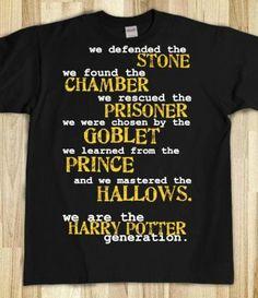 Not gen-x or gen-y, but gen-HP.  Harry Potter.