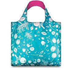 Nákupná taška LOQI Seed Teal
