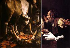 La prospettiva sul corpo umano: lo scorcio - Caravaggio