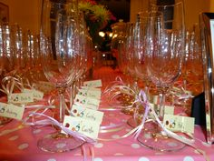 Champagne Name Tags