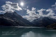 Silvretta Stausee - Lake Silvretta by frbr #landscape #travel