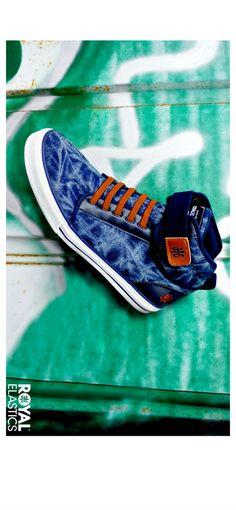 ROYAL ELASTICS Medio series Jeans #sneakers #hightops