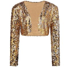 NEW Sparkly Sexy Women Sequin Cardigan Jacket Coat Long Sleeve Short Cropped Bolero Shrug Clubwear Vintage Party Costumes silver Clubwear, Coats For Women, Jackets For Women, Glitter Jacket, Denim Bomber Jacket, Sequin Cardigan, Flannel Dress, Bolero, Short Models