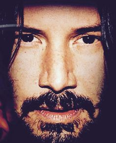 WHY DO WE LOVE KEANU? Because of those deep, mysterious eyes. (chicfoo) keanu