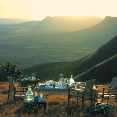 Samara Private Game Reserve in the Eastern Cape offers the most dreamy picnic spots! Restored Farmhouse, Dining Room Fireplace, African Interior, Game Lodge, Private Games, Picnic Spot, Game Reserve, Biomes, Samara