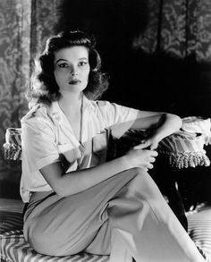 Katharine Hepburn Film Set Woman Of The Year (1942)