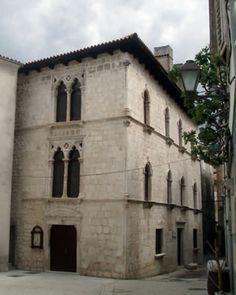 Croatia, Cres, Palazzo Arsan Petris, 15th century