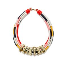 www.cewax.fr aime la nouvelle collection Bimba Y Lola - Threads necklace