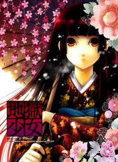 "Jigoku Shoujo ""In Bloom"" by myhilary.deviantart.com on @deviantART"