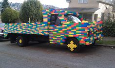 The Lego Truck. by woodendesigner, via Flickr