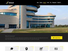 B-School is Free Education Bootstrap Website template with clean and modern style theme. You can use the template for multipurpose, Educational Institutes, Collage's, Schools, Training Institutes and many more. It's easy to customize according to you requirements and this is developed on latest technologies like HTML5, Bootstrap 3.3.1. And it's 100% Responsive Layout Design so your website will work very well on all mobile devices.
