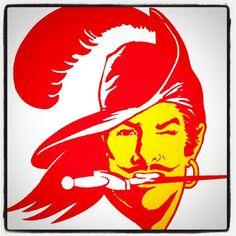 Original Tampa Bay Buccaneers Logo