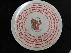 Vintage Promotional ICEE Collector Plate Prototype Icee Marketing