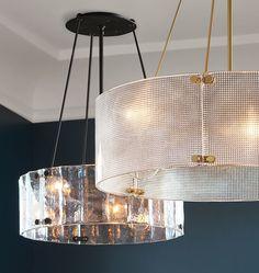 "Willamette Small Fluted Glass Chandelier 24"" Diameter A0640 ORB 24' DIA. $899 foyer"