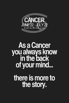 This is the absolute truth! Even when people try to hide secrets, WE KNOW... #Cancer #Cancerian #Moonchild