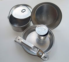 Girl Scout Cooking/Mess Kit With Cup