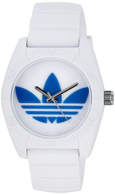 adidas Unisex ADH2921 Santiago White Plastic Watch with Silicone Strap * You can get additional details at the image link.
