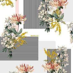 Design print pattern floral ideas for 2019 Textiles, Textile Prints, Textile Patterns, Textile Design, Print Patterns, Surface Pattern Design, Pattern Art, Pattern Floral, Pattern Designs