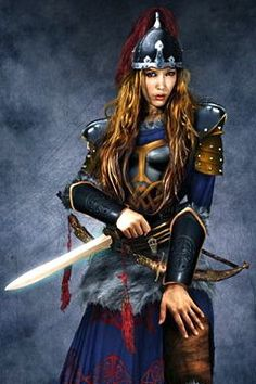 Laurana Kanan by Nick Barfuss. Elven warrior general of Dragonlance