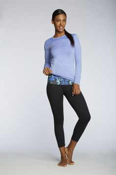 Love the periwinkle top