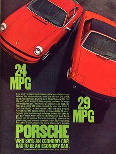 Photo :: ad porsche red 914 911 mpg
