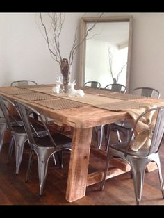 1000 Images About Dining Table On Pinterest Reclaimed