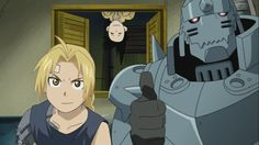 Ed, Alphonse, and Ling