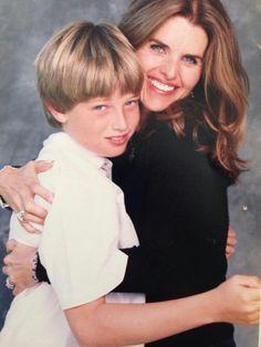 Maria Shriver and son Patrick