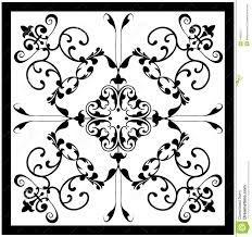 black and white antique ceramic tiles - Google Search