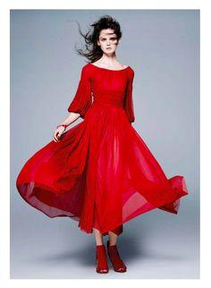 Dolce&Gabbana Fall Winter 2014-15, Elle Germany October 2014